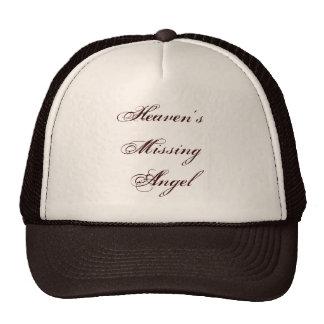Heaven's Missing Angel Cap Trucker Hats