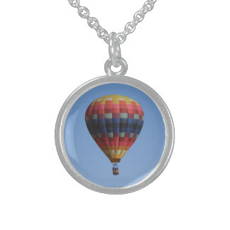 Heavens Quilt Hot Air Balloon Necklace