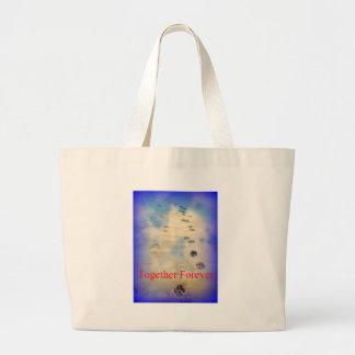 Heavens Walk Jumbo Tote Bag