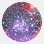 Heaviest Stars in Galaxy, Sagittarius Round Sticker