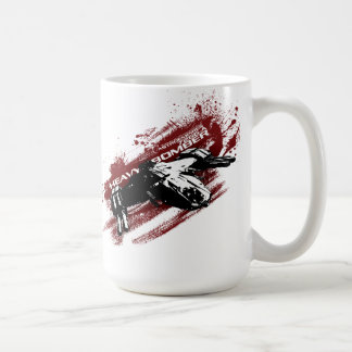 Heavy Bomber splash mug