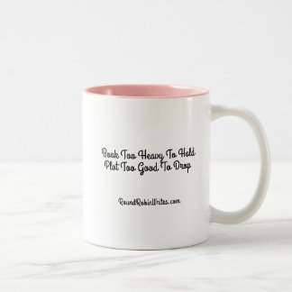 Heavy Book (mug) Two-Tone Coffee Mug