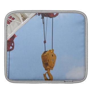 Heavy construction equipment iPad sleeve