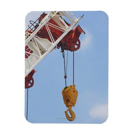 Heavy construction equipment rectangular magnet