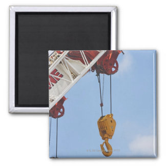 Heavy construction equipment square magnet