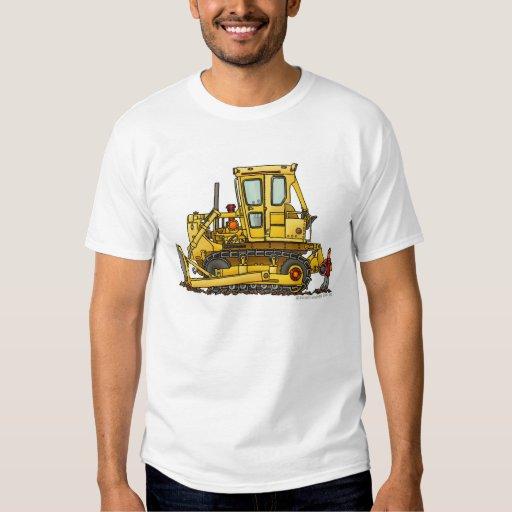 Heavy Duty Bulldozer Dirt Mover Construction Appar Shirts