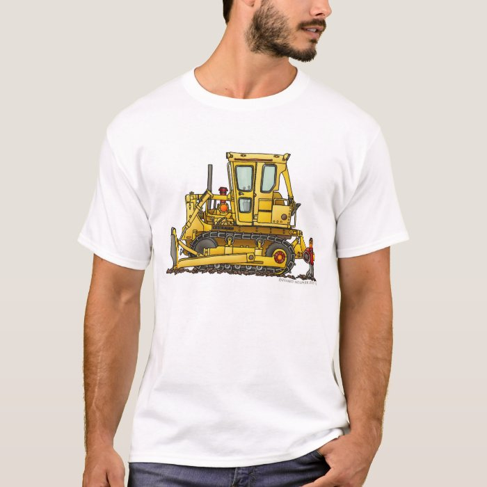 Heavy Duty Bulldozer Dirt Mover Construction Appar T-Shirt
