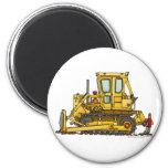 Heavy Duty Bulldozer Dirt Mover Construction Magne Fridge Magnets