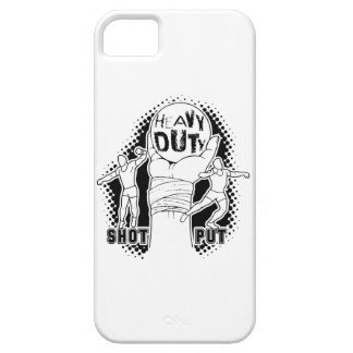Heavy duty – shot put barely there iPhone 5 case