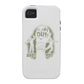 Heavy duty – shot put Case-Mate iPhone 4 covers
