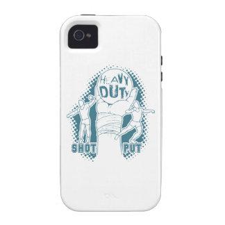 Heavy duty – shot put Case-Mate iPhone 4 cover