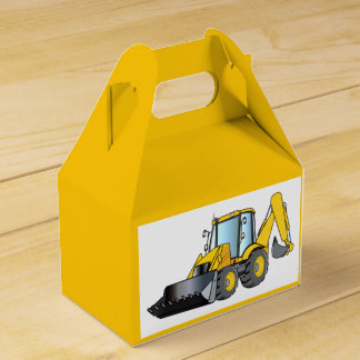 Heavy Equipment: Backhoe Favour Box