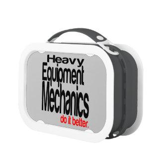 Heavy Equipment Mechanics Do It Better Lunchboxes