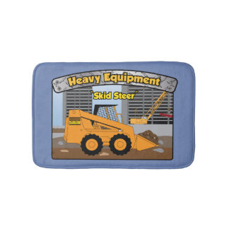 Heavy Equipment Skid Steer Bath Mat