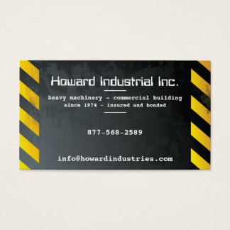 Heavy Hazards Business Card