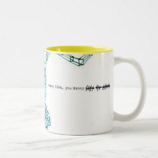 Heavy Lids Two-Tone Coffee Mug