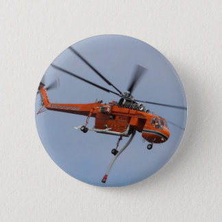 HEAVY LIFTER HELICOPTER 6 CM ROUND BADGE