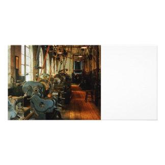 Heavy Machine Shop Custom Photo Card