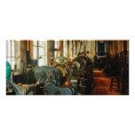 Heavy Machine Shop Rack Cards