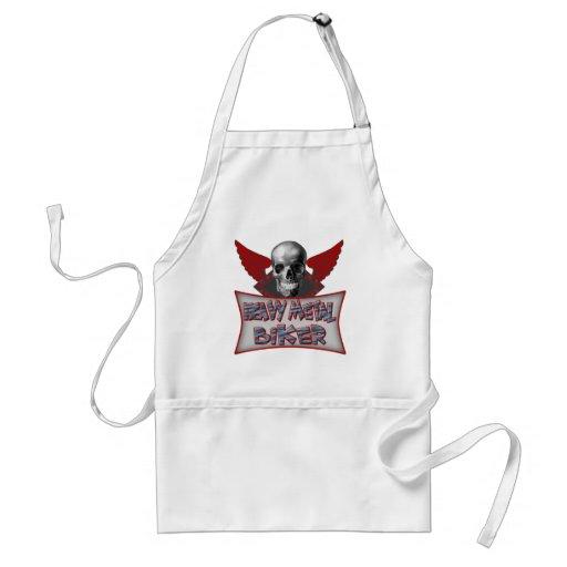 Heavy Metal Biker T shirts Gifts Aprons