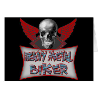 Heavy Metal Biker T shirts Gifts Cards