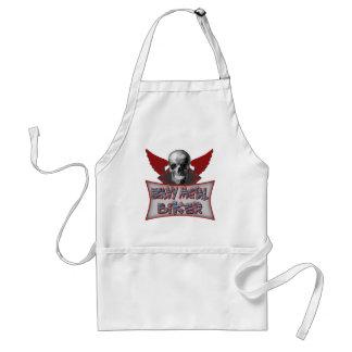 Heavy Metal Biker T shirts Gifts Standard Apron
