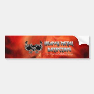 Heavy Metal Detecting Bumper Sticker