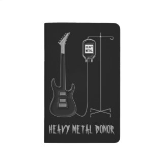 Heavy Metal Donor Guitar Music Journal