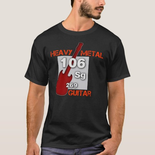 Heavy Metal Guitar T-Shirt