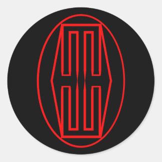 Heavy Metal Hard-Wear, LLP OfficialLogo Round Sticker