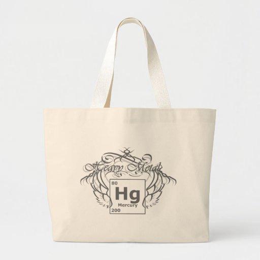 Heavy Metal Jumbo Tote Bag