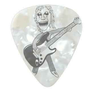 Heavy Metal Maniac Guitar Pick Pearl Celluloid Guitar Pick