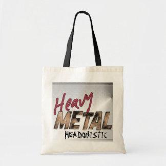 Heavy Metal metallic design Tote Bag
