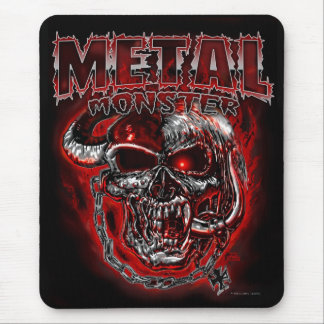 Heavy Metal Monster Mouse Pad