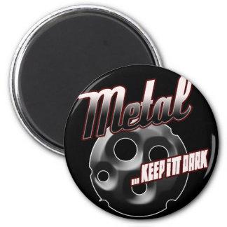 Heavy Metal music t shirt hat hoodie sticker stuff 6 Cm Round Magnet