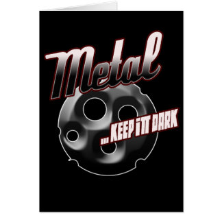 Heavy Metal music t shirt hat hoodie sticker stuff Greeting Card