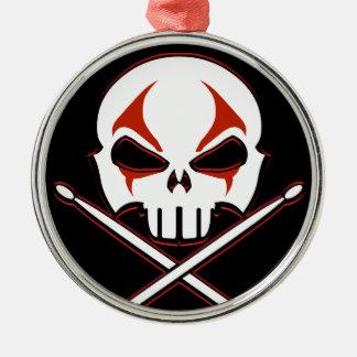 Heavy Metal Ornament Rock & Roll Drummer Ornament