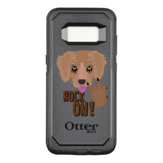 Heavy metal Puppy rock on OtterBox Commuter Samsung Galaxy S8 Case