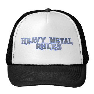 HEAVY METAL RULES CAP