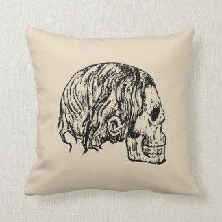 Heavy Metal Skull Pillow