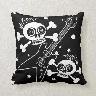 Heavy Metal Skulls Cushion