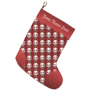heavy metal stocking rock roll drummer custom - Heavy Metal Christmas Decorations