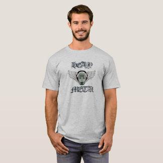 #Heavy Metal T-shirt /Totenkopf/Kopfh more örer in