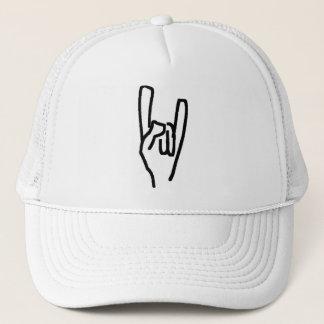 heavy metal trucker hat