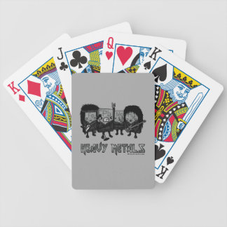 Heavy Metals Bicycle Playing Cards