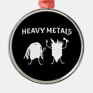Heavy Metals Christmas Ornament