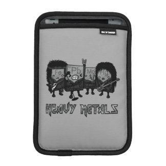 Heavy Metals iPad Mini Sleeves