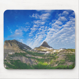 Heavy Runner And Reynolds Mountain In Morning Mouse Pad