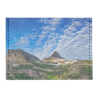 Heavy Runner And Reynolds Mountain In Morning Tyvek® Card Case Wallet
