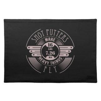 heavy things that fly 2 placemat